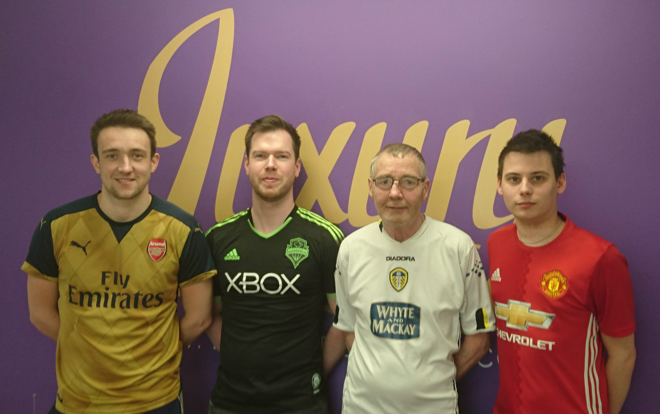 Luxury Flooring Supports Football Shirt Friday