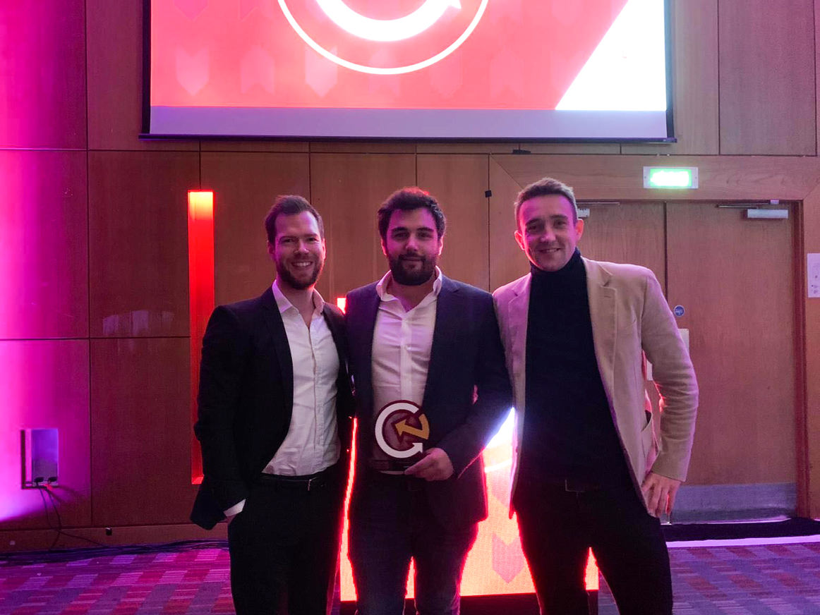 Luxury Flooring scoop eCommerce Company of the Year - Small at Northern eCommerce Awards