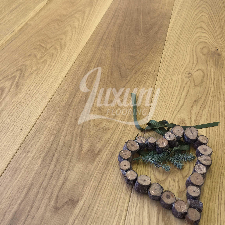 220mm Natural Oiled Engineered European Oak Wood Flooring 20 6mm Thick