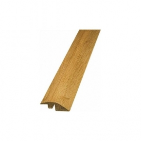 Brushed and Oiled Solid Oak Ramp Profile Door Bar To Match Brushed and Oiled Flooring - SW5
