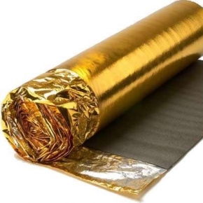 Gold Laminate and Wood Flooring Underlay - 5mm