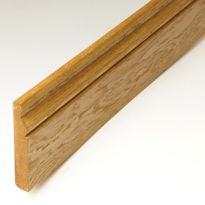 Prefinished Solid Oak Skirting Board 120 x 20mm