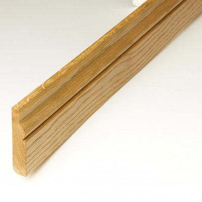 Prefinished Solid Oak Skirting Board 95 x 20mm