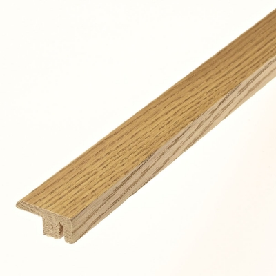 Brushed and Oiled Solid Oak End Profile Door Bar To Match Brushed and Oiled Flooring - SW5