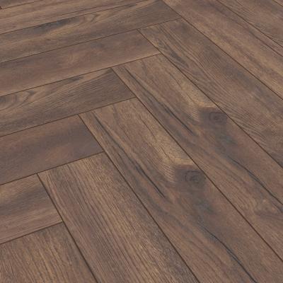 Nest 8mm Penny Oak Herringbone Laminate Flooring