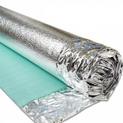 Silver Laminate and Wood Flooring Underlay - 3mm