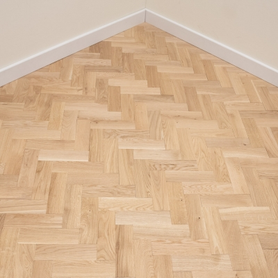 Thorpe Oak Herringbone 70 x 250 x 22mm Unfinished
