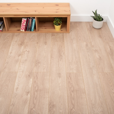 Nest 8mm Fawn Oak Laminate Flooring