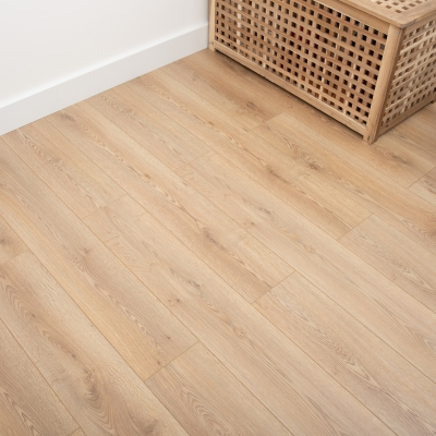 Nest 8mm Shortbread Oak Laminate Flooring