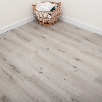 Nest Ashen Oak Click Rigid Luxury SPC Vinyl Flooring - 6.5mm Thick (inc. 1mm Underlay)