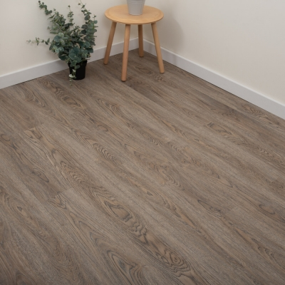 Nest Truffle Oak Click Rigid Luxury SPC Vinyl Flooring - 4mm Thick