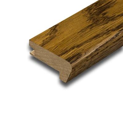Golden Solid Oak Flush Fit Stair Nosing