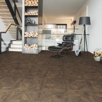 11.40m² - Quickstep Impressive Patterns Royal Oak Dark Brown Laminate Flooring - IPA4145 (6 packs)