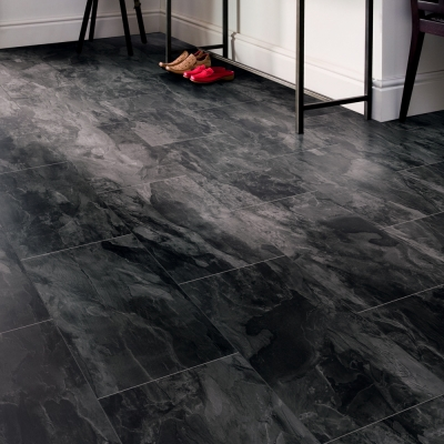 Nest 8mm Midnight Slate 4V Laminate Flooring
