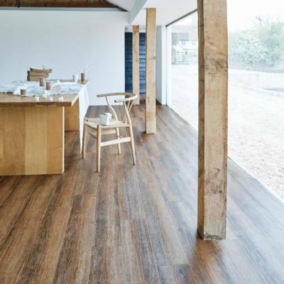 LG Hausys Decotile 55 Natural Ash 1257 Luxury Vinyl Flooring