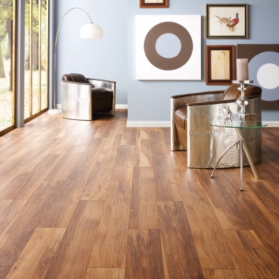 Nest 10mm Alabama Hickory 4V Groove Laminate Flooring