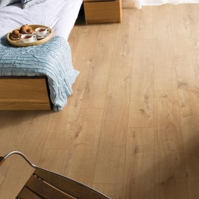 Nest 8mm Amsterdam Oak 4V Groove Laminate Flooring