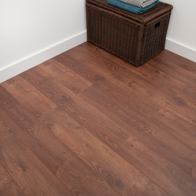 Nest 8mm Copper Oak Laminate Flooring