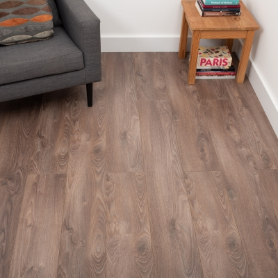 Nest 8mm Dusty Oak Laminate Flooring