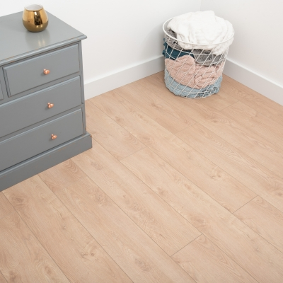 Nest 8mm Fallow Oak Laminate Flooring