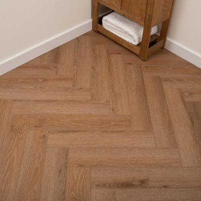 Nest Sparrow Oak Rigid Herringbone Luxury SPC Vinyl Flooring - 6.5mm Thick (inc. 1mm Underlay)
