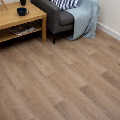 Nest American Oak Click Rigid Core Luxury Vinyl Tile Wood Flooring - 4mm Thick