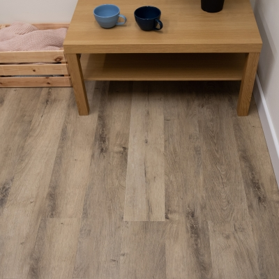 Nest Finch Click Rigid Core Luxury Vinyl Tile Wood Flooring - 4mm Thick (inc. 1mm Underlay)