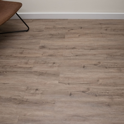 Nest Fumed Snow Oak Click Rigid Core Luxury Vinyl Tile Wood Flooring - 6.5mm Thick (inc. 1mm Underlay)