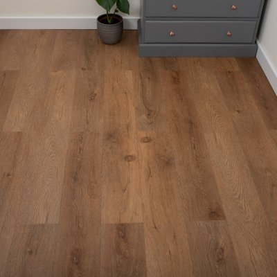 Nest Chestnut Oak Click Rigid Luxury SPC Vinyl Flooring - 4mm Thick