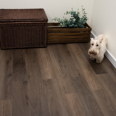 Nest Titanium Oak Click Rigid Core Luxury Vinyl Tile Wood Flooring - 4mm Thick (inc. 1mm Underlay)
