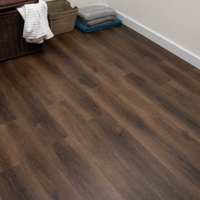 Nest Weathered Oak Click Rigid Core Luxury Vinyl Tile Wood Flooring - 5mm Thick