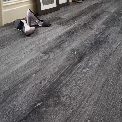 Nest Coal Smoked Wood Luxury Vinyl Tile Wood Flooring - 2.5mm Thick