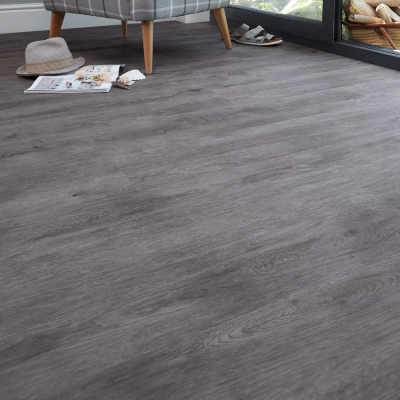 Nest Grey Horizon Luxury Vinyl Tile Wood Flooring - 2.5mm Thick
