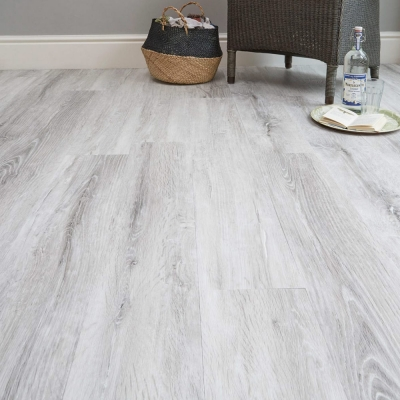 Nest Mountain Oak Luxury Vinyl Tile Wood Flooring - 2.5mm Thick