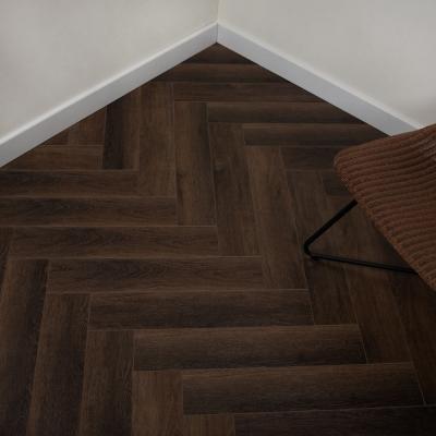 Nest Hidden Burrow Rigid Herringbone Luxury SPC Vinyl Flooring - 6.5mm Thick (inc. 1mm Underlay)
