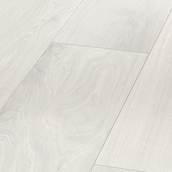 Parador Basic 400 Oak Crystal White Wideplank Wood Texture 4v Laminate Flooring