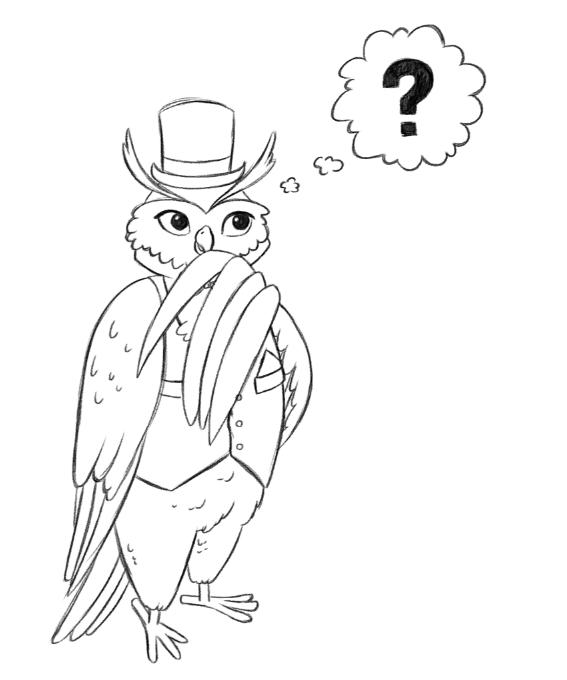 Luxury Owl Thinking